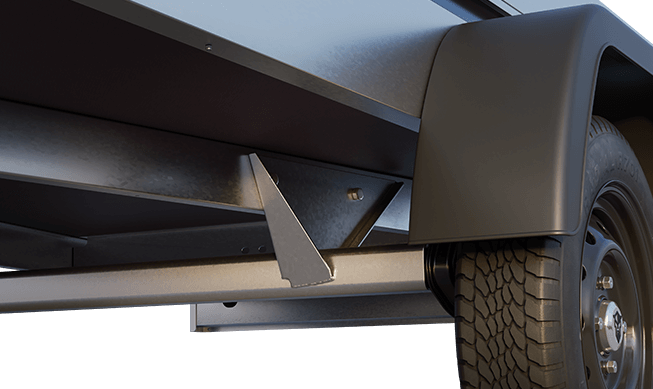 Viking Trailers - Robust underbody