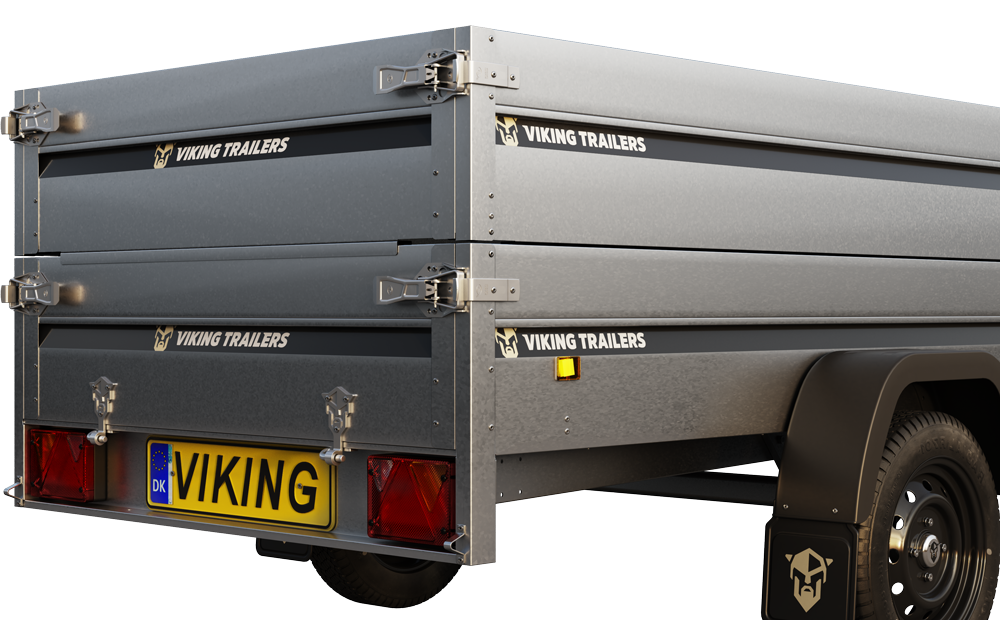 Viking Trailers - Click & Go® makes it easy to mount accessories