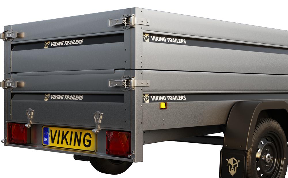 Viking Trailers - Click & Go® gør ekstraudstyret let at montere